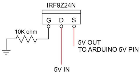 dropControllerBT Circuit Diagram Mosfet